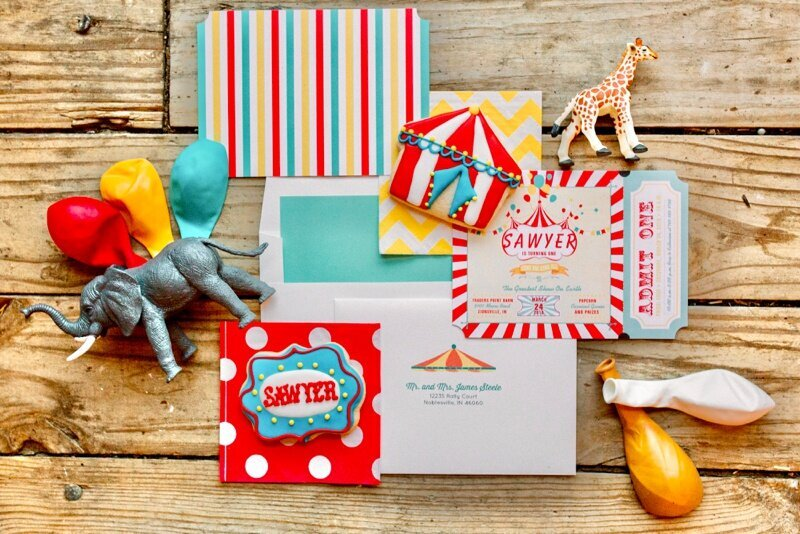 Circus Themed 1st Birthday Indianapolis Party Planner_0013