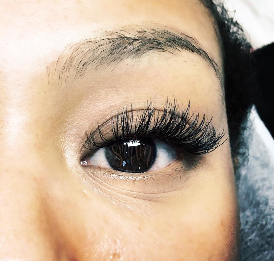 Volume/Classic mix lashes