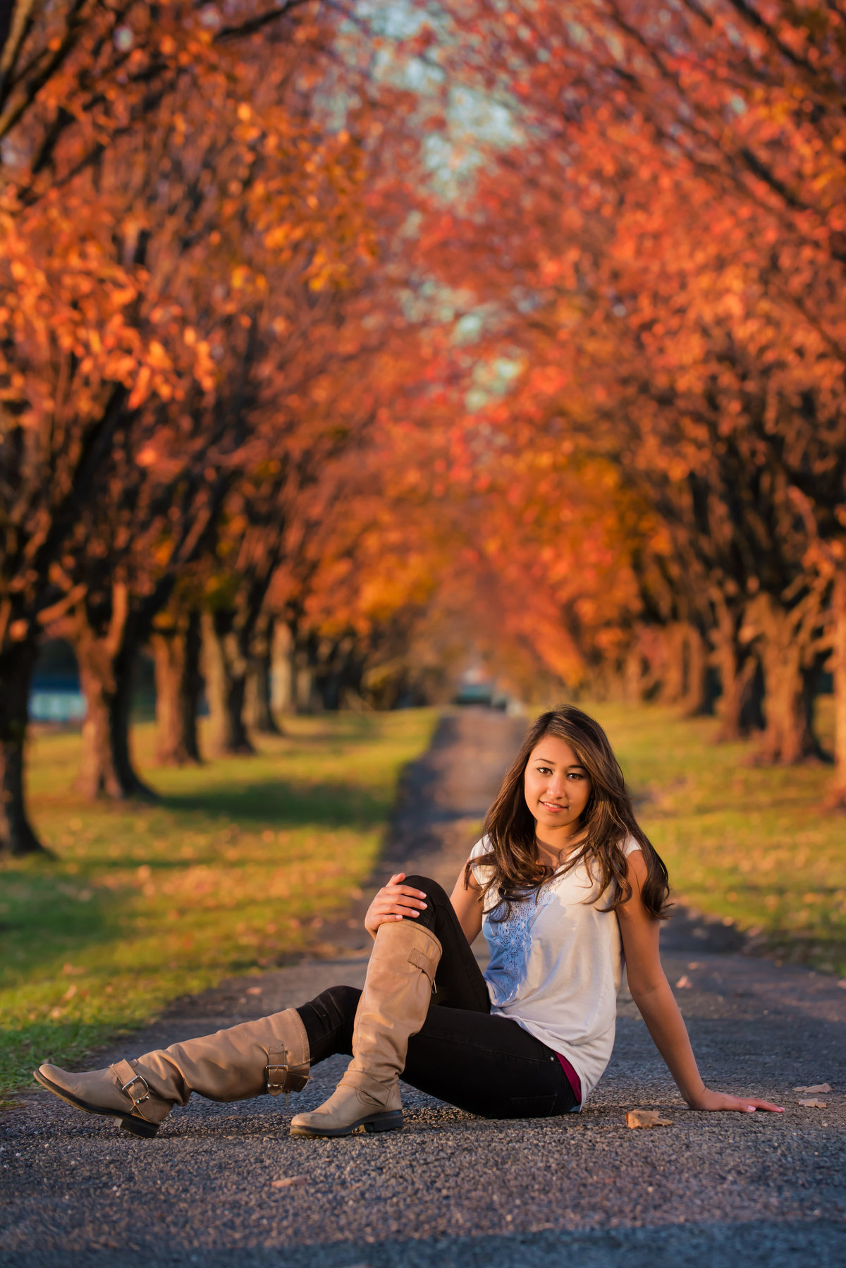 Fall in Baltimore is the perfect time to take your 2017/2018 senior portraits