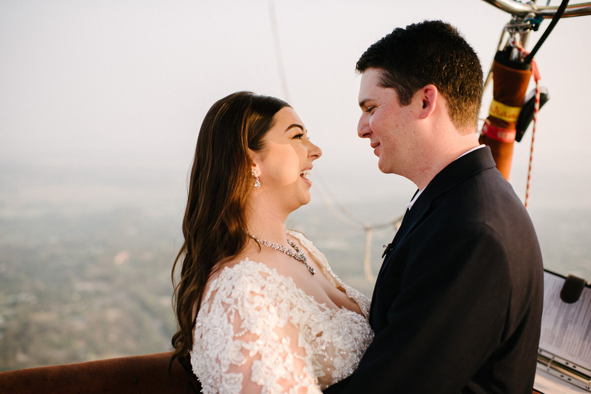 Hot Air Balloon Elopement Marie Monforte Photography-147
