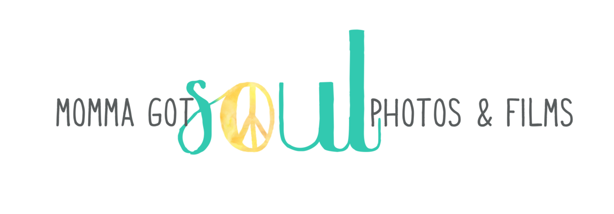 Momma Got Soul Photography Logo - Horizontal