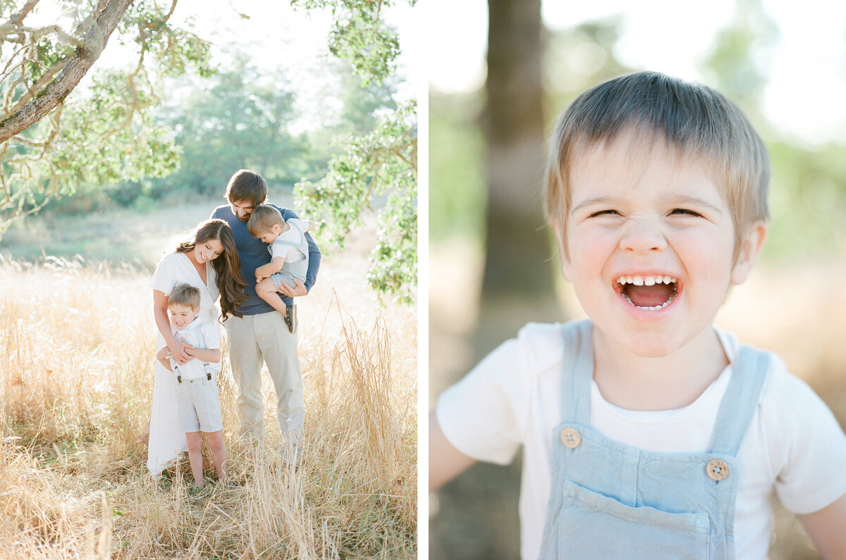 Fort Steilacoom Park Family Session - Film Family Photography - Seattle - Fine Art - Light and Airy - Family photos - 1