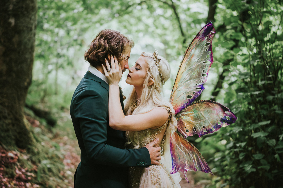 Ireland Forest Fairy Elven Elopement web-3