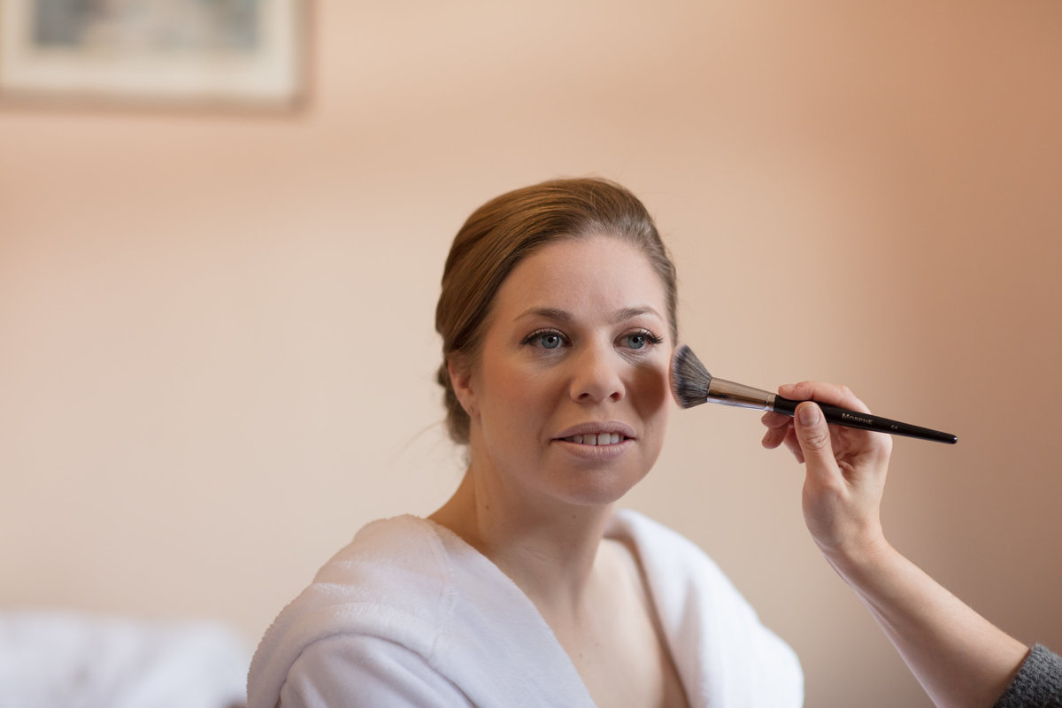 wedding make up artist in devon