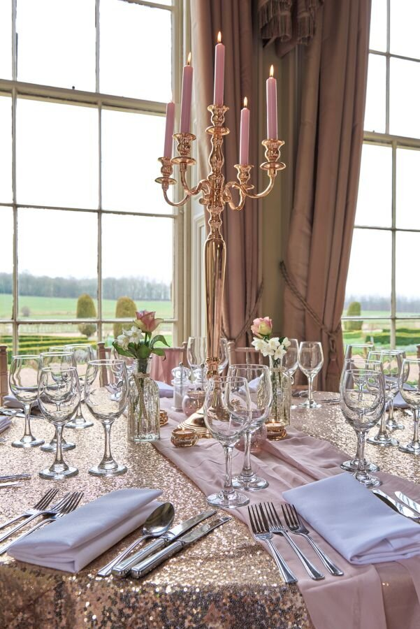 Dusky pink and gold wedding Prestwold Hall sm (2)