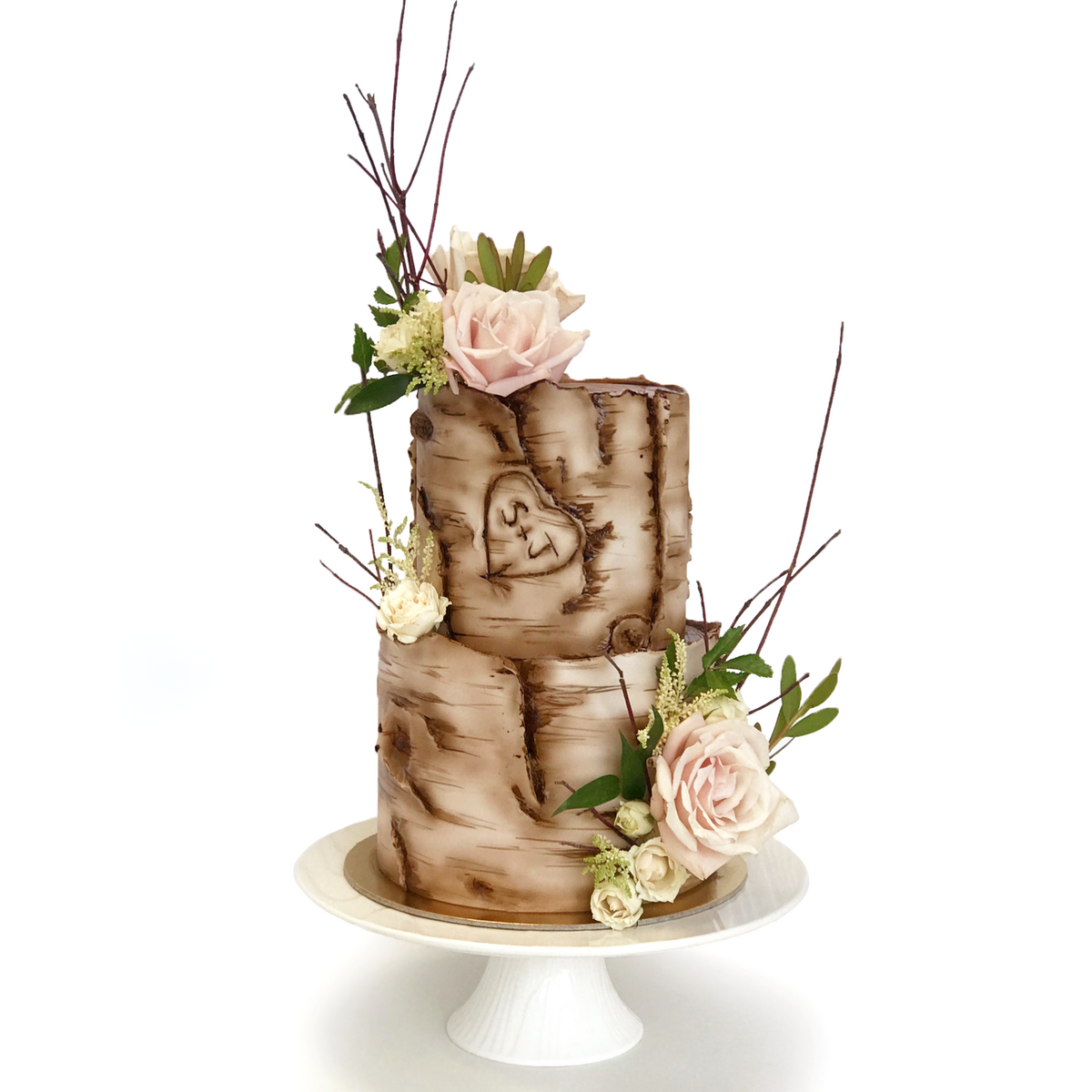 Whippt Kitchen - birch bark wedding cake 2b