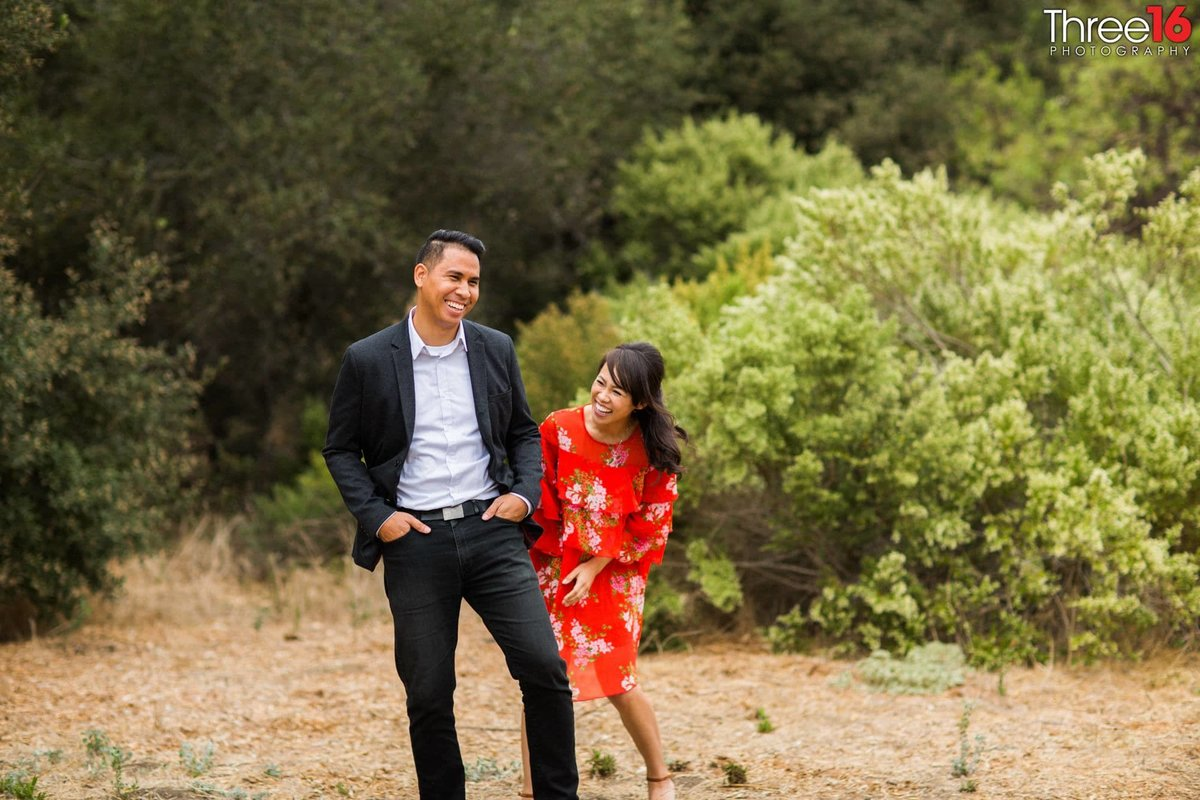 Laguna Coast Wilderness Park Engagement Beach Orange County_2