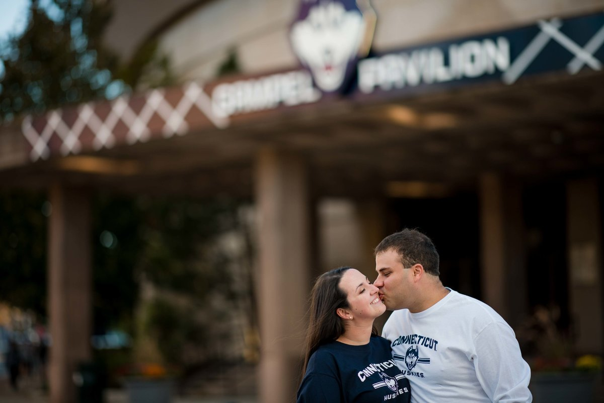 15 uconn engagement session gampel pavilion for saybrook point inn wedding