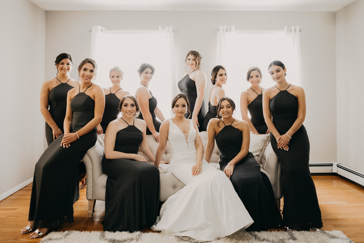 Westmount Country Club white modern New Jersey wedding 2
