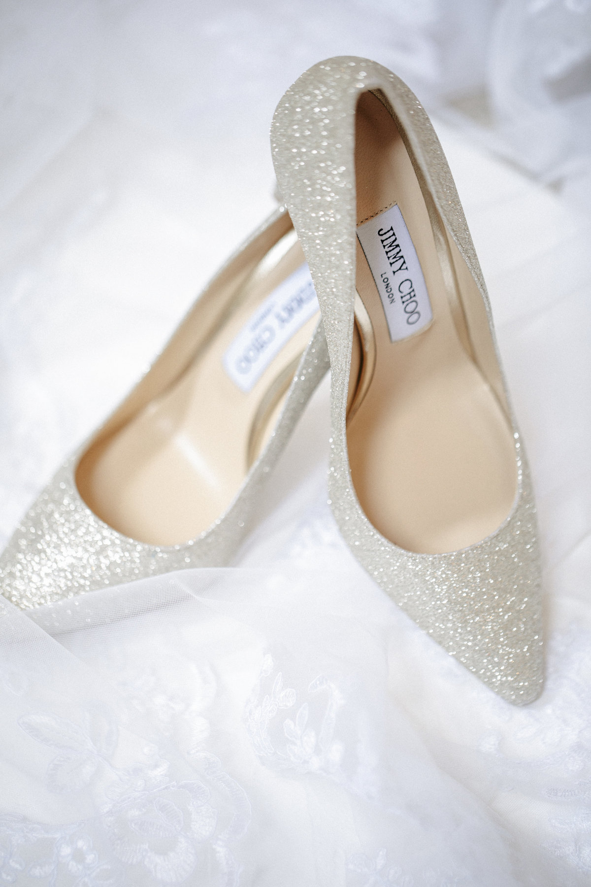 jimmy choo shoes for clarks landing yacht club wedding