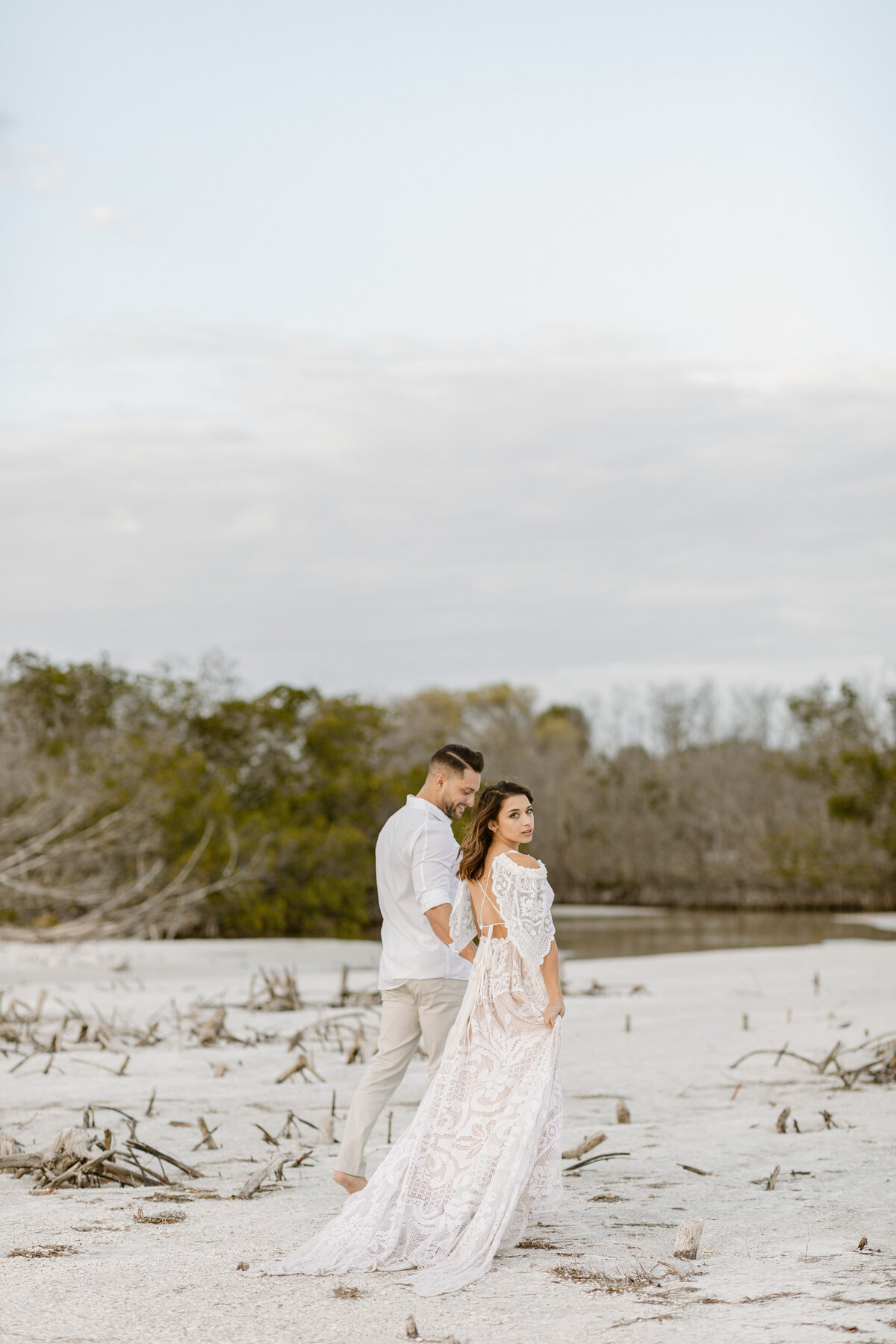 Beach Elopement in Saint Petersburg, Florida 24