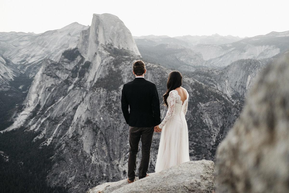 Athena And Camron Seattle Wedding Photographer Yosemite Elopement