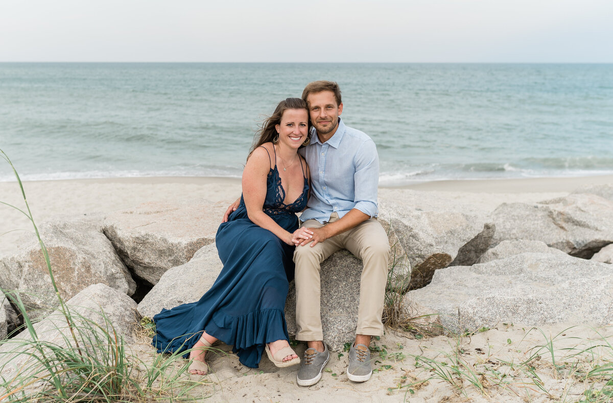 Fort Fisher NC Engagement Photos