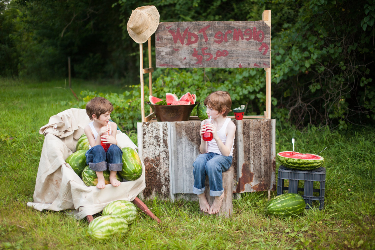 Watermelon Stand Garland Boys-8878