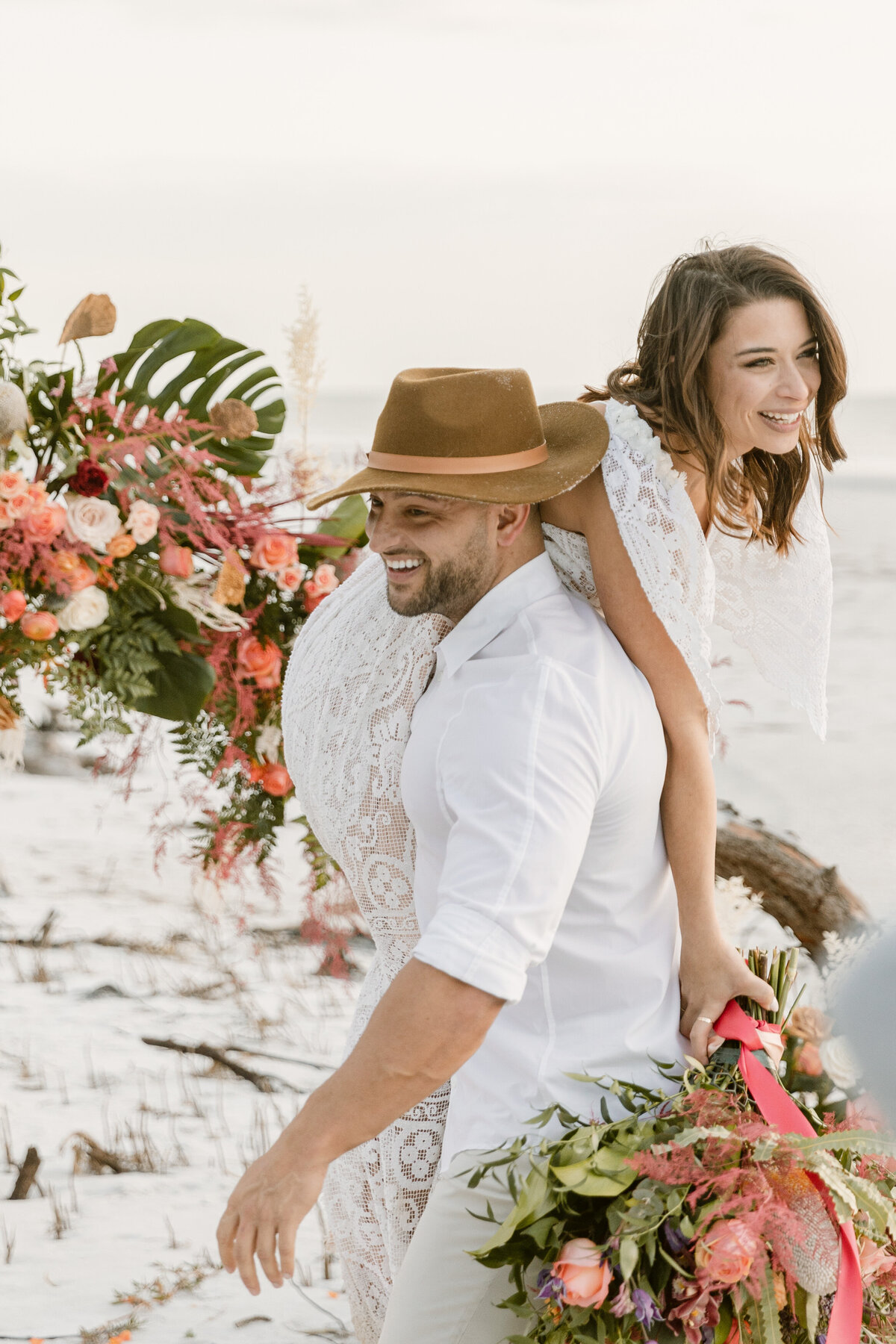 Beach Elopement in Saint Petersburg, Florida 29