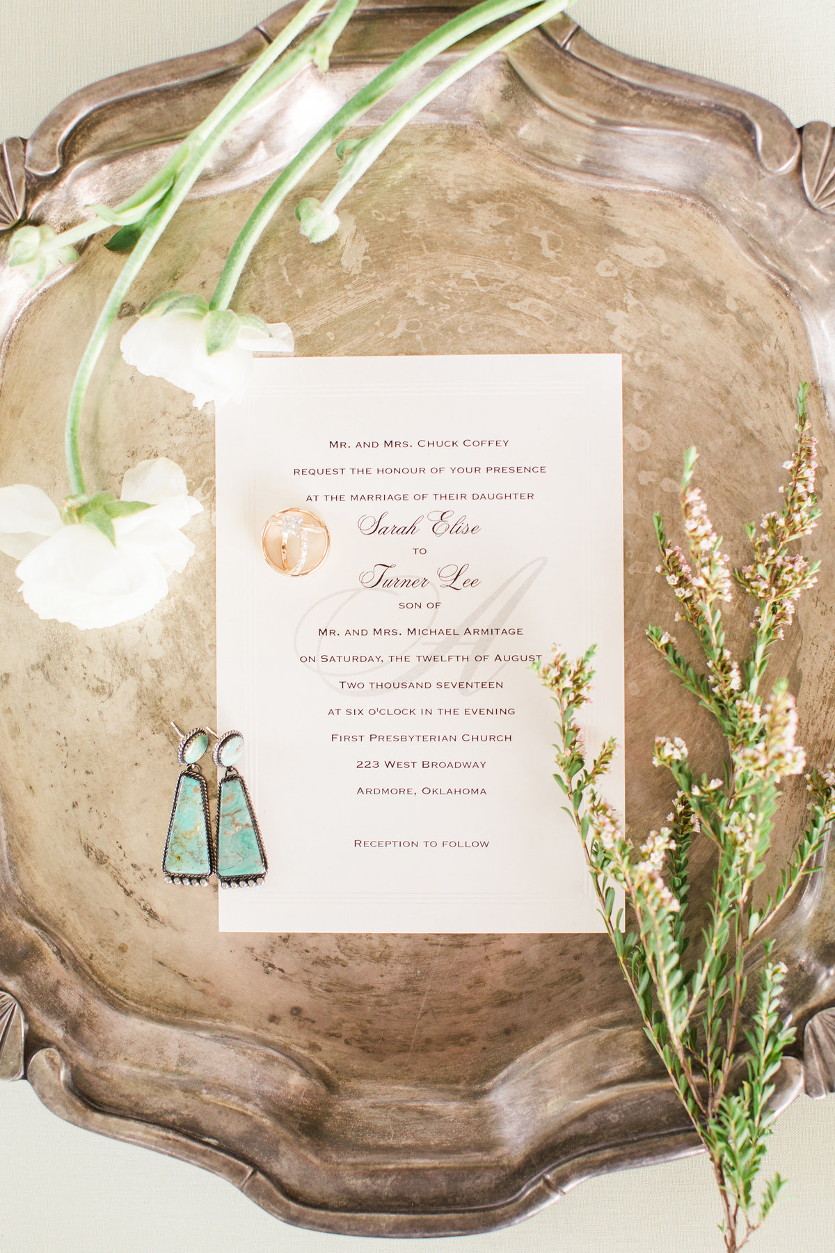 Ardmore Convention Center Wedding Invitations