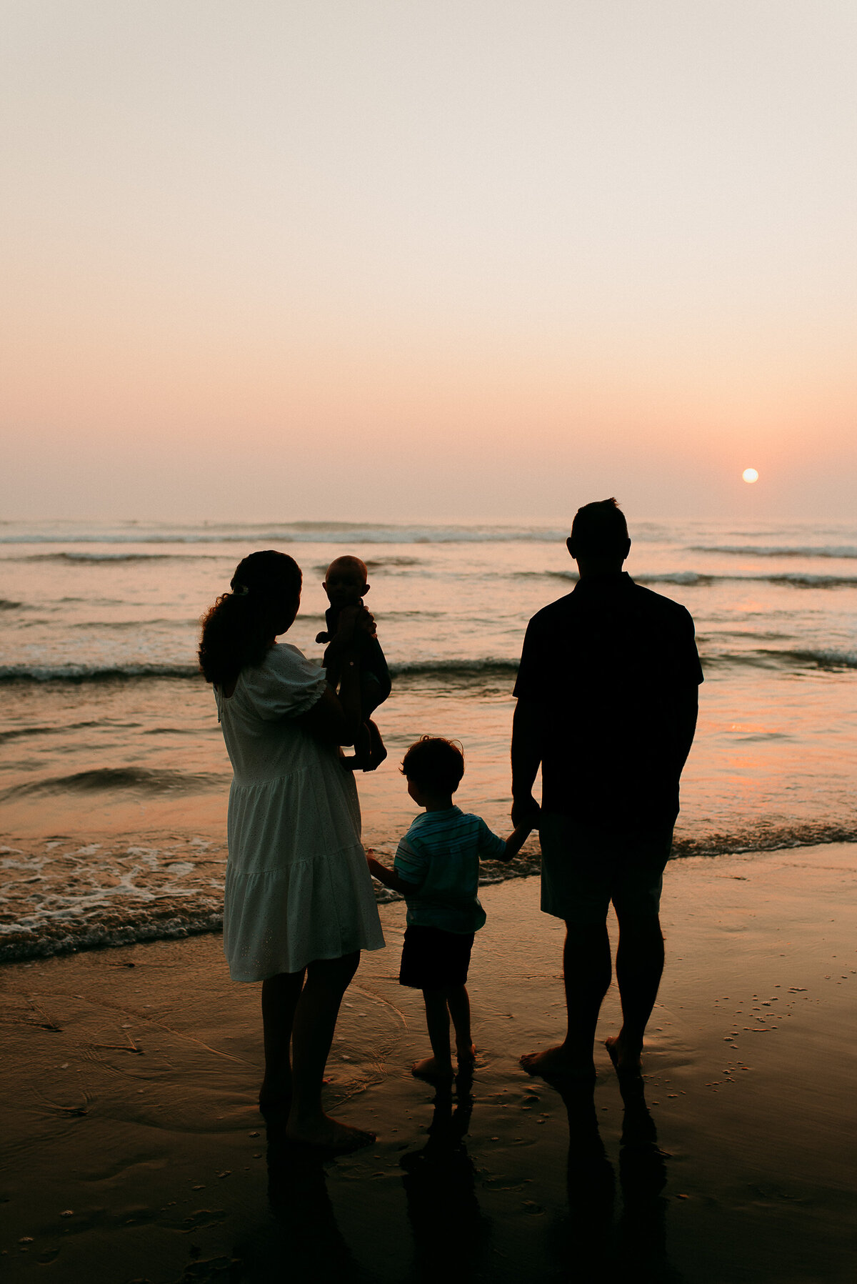 Carlsbad Family Photographer-sunset silhouette 106