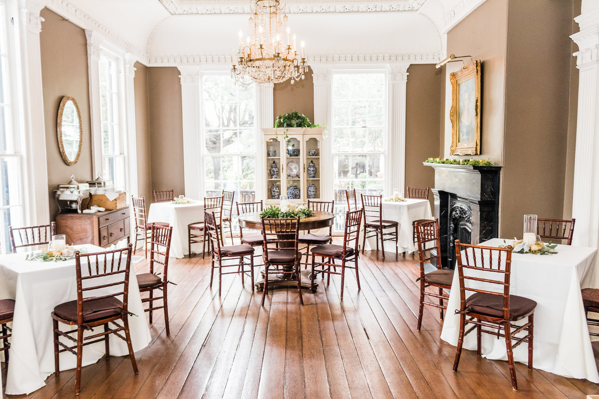 The Wickliffe House Charleston Wedding Reception