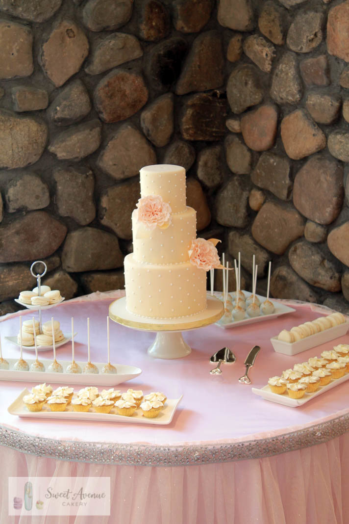elegant sweets table - Liuna Gardens, Stoney Creek ON