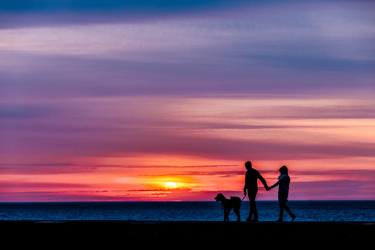 North-Avenue-Beach-Sunrise-Engagement-Chicago