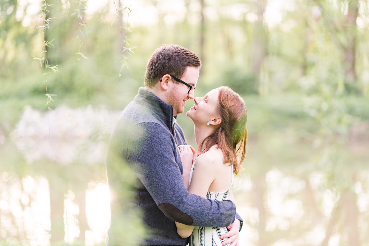 Cait Potter Creative LLC Holcomb Gardens Spring Engagement Photos-9