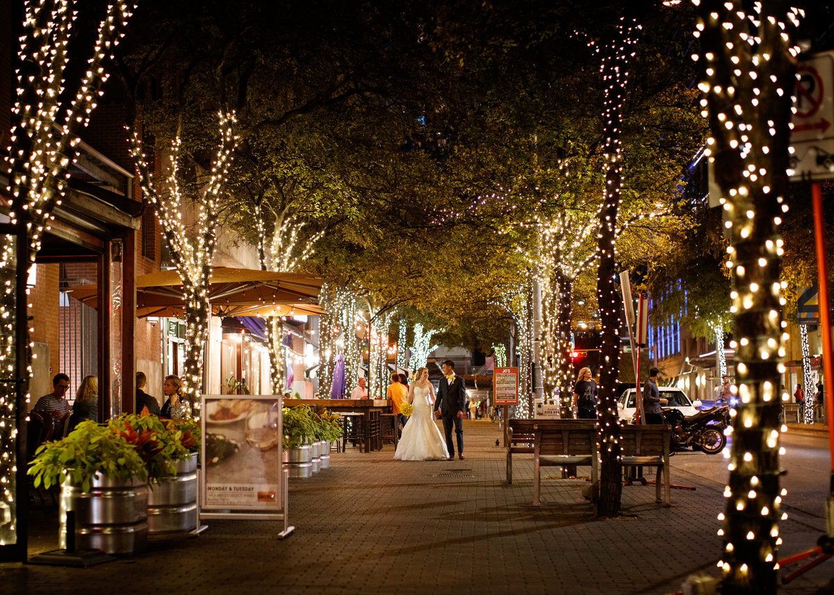W Austin Hotel wedding photographer 2nd st district bride groom outside romantic 200 Lavaca St, Austin, TX 78701