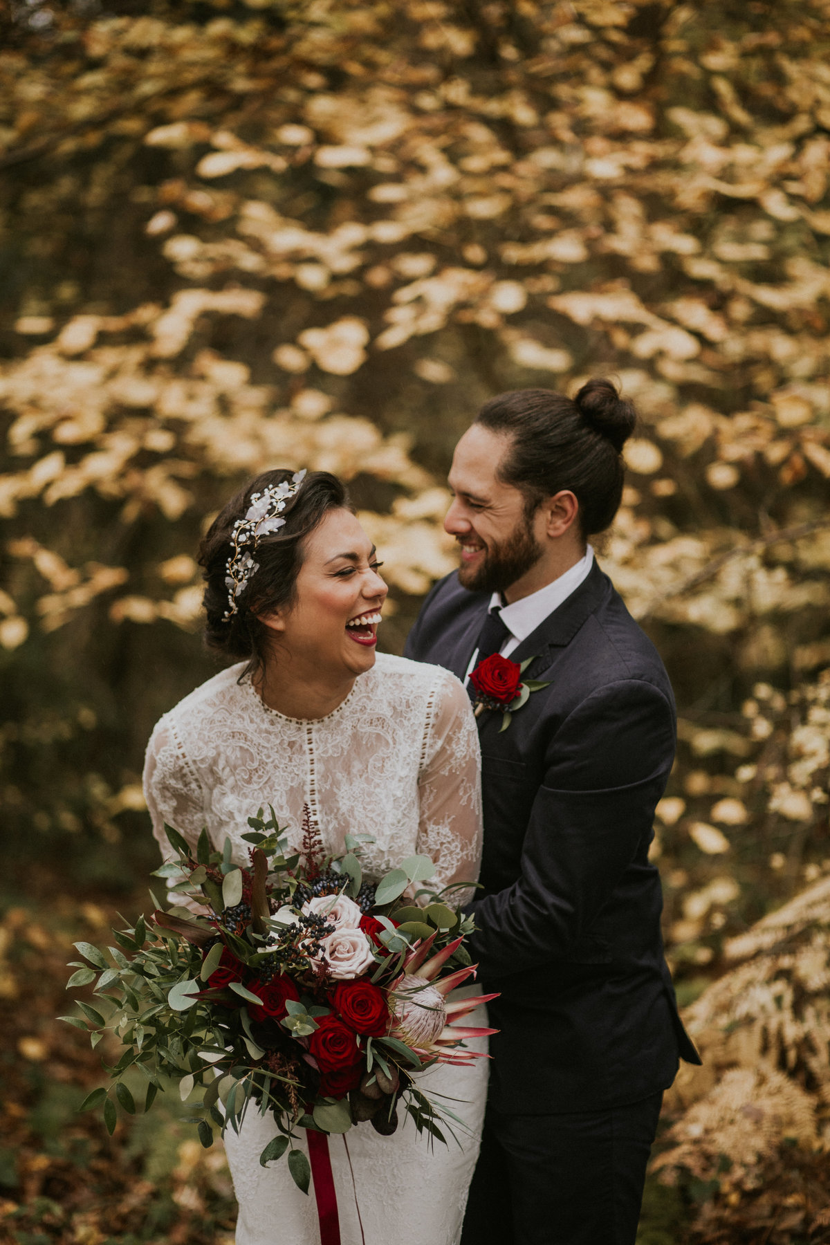 The Stars Inside - Forest Elopement - Nataly J Photography (22)