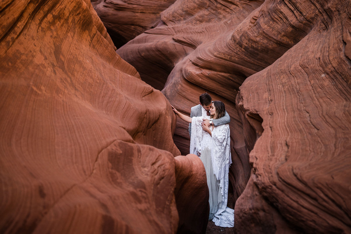 Slot Canyon Elopement
