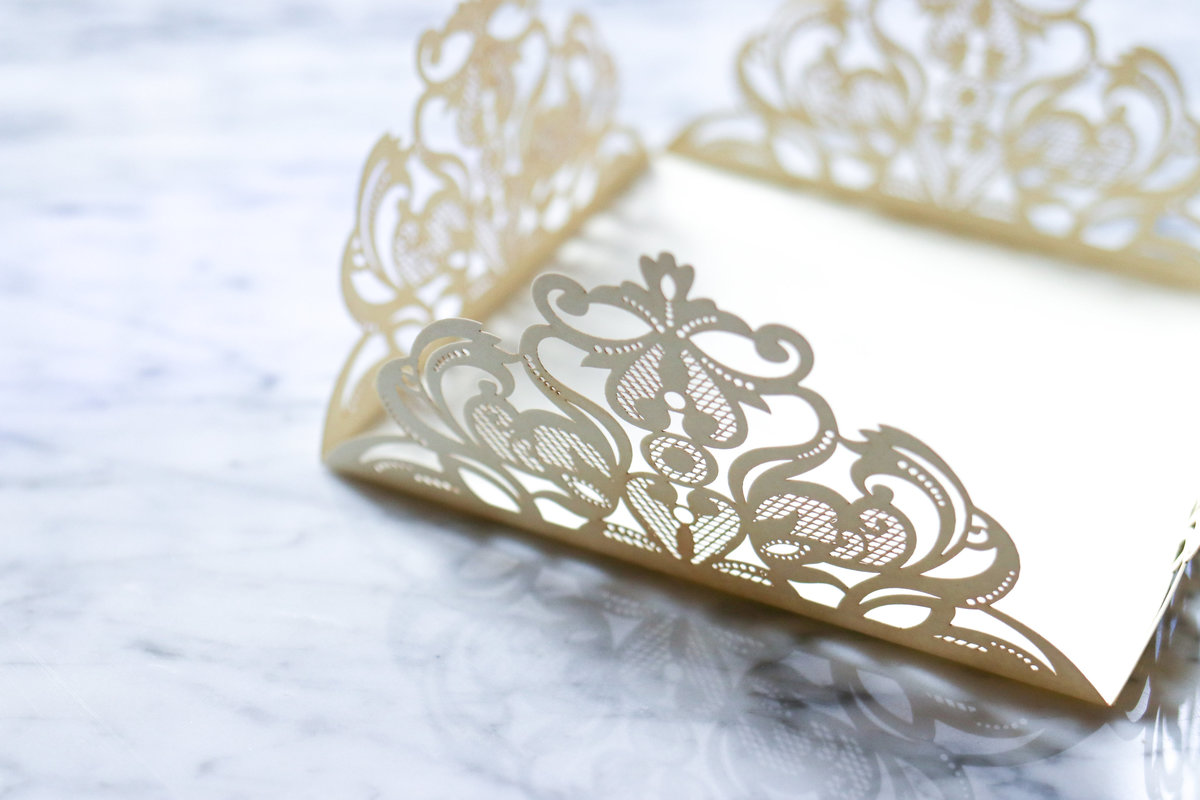 Lasercut Stationery