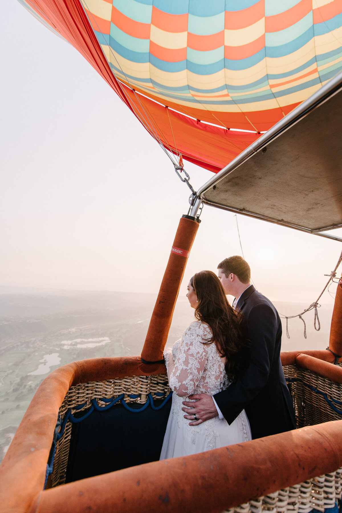 Hot Air Balloon Elopement Marie Monforte Photography-175