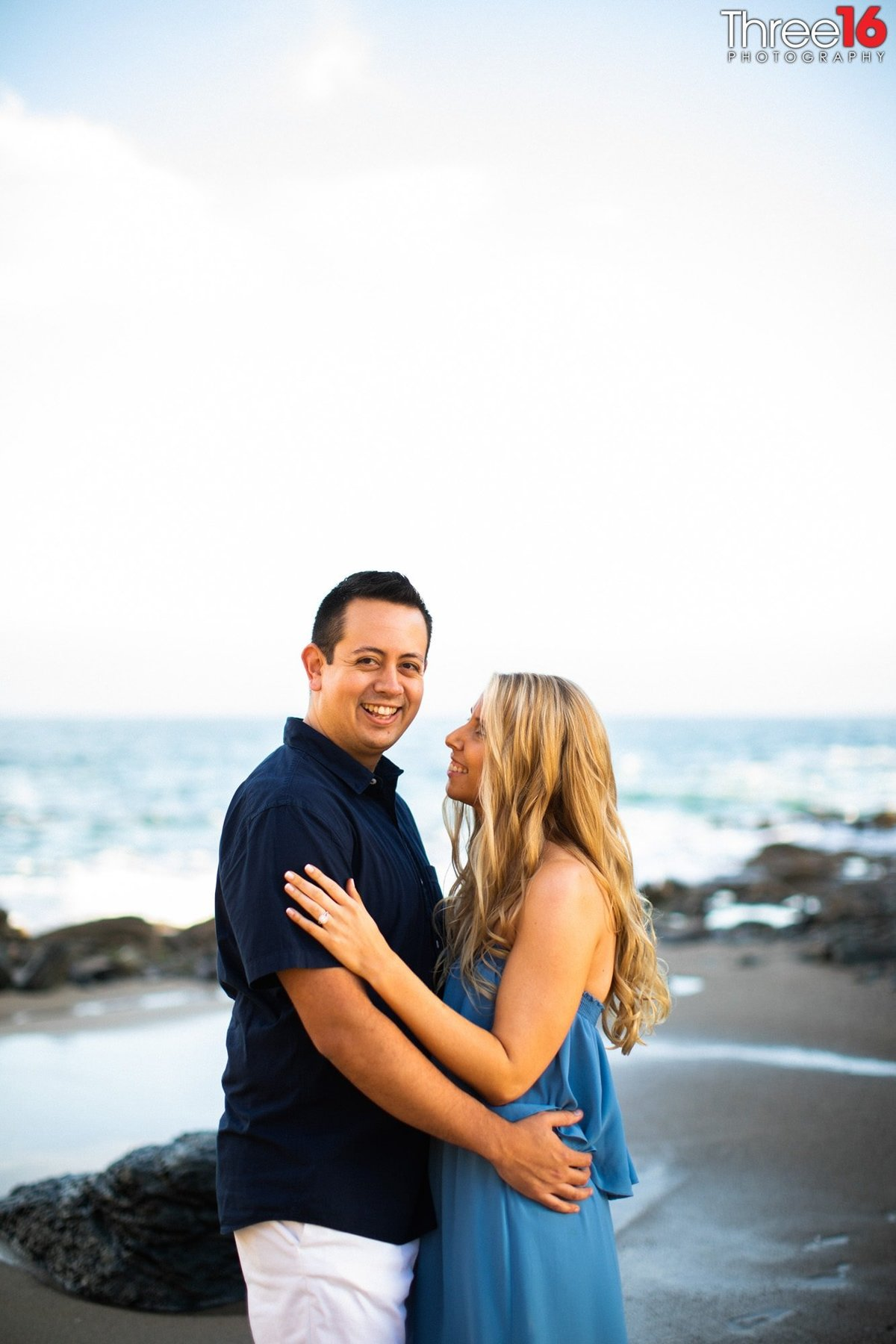 Table Rock Beach Engagement