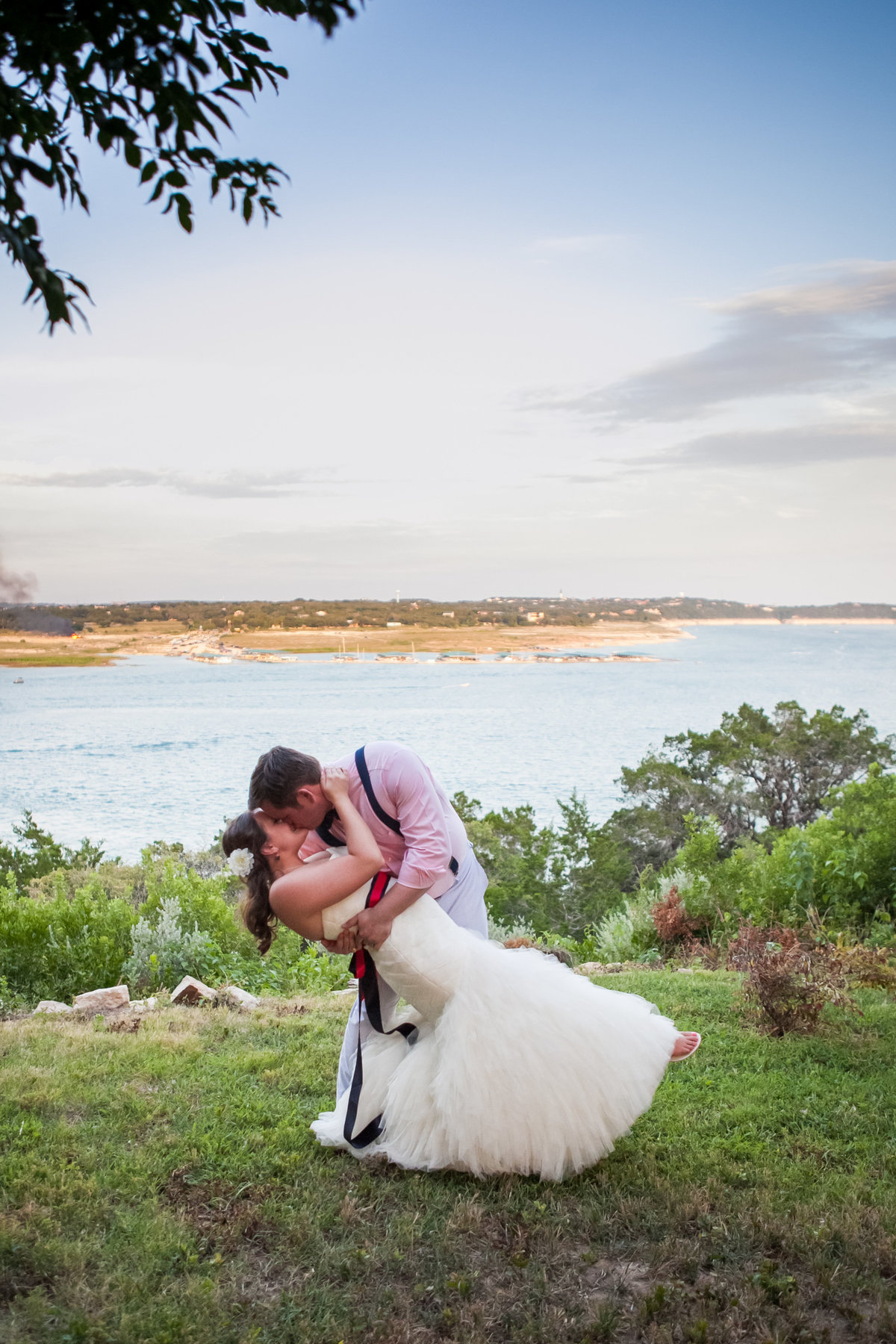 Nature's Point, Austin Family Photographer, Tiffany Chapman Photography bride and groom portrait photo