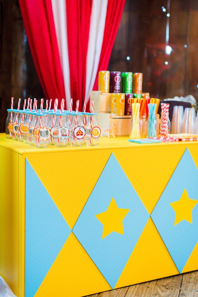 Circus Themed 1st Birthday Indianapolis Party Planner_0045