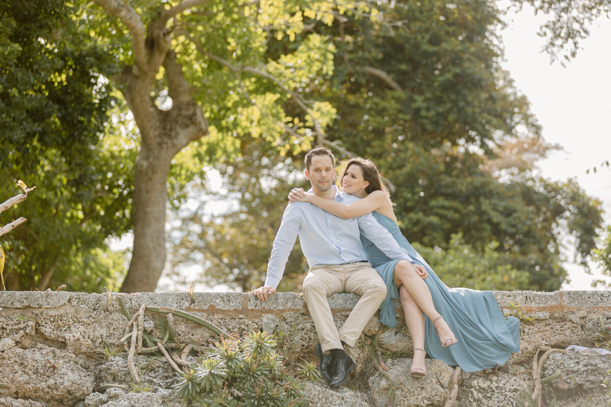 Fairchild Tropical Gardens Engagement Photography Session 3