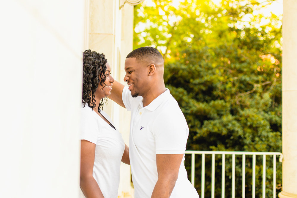 NC State engagement session