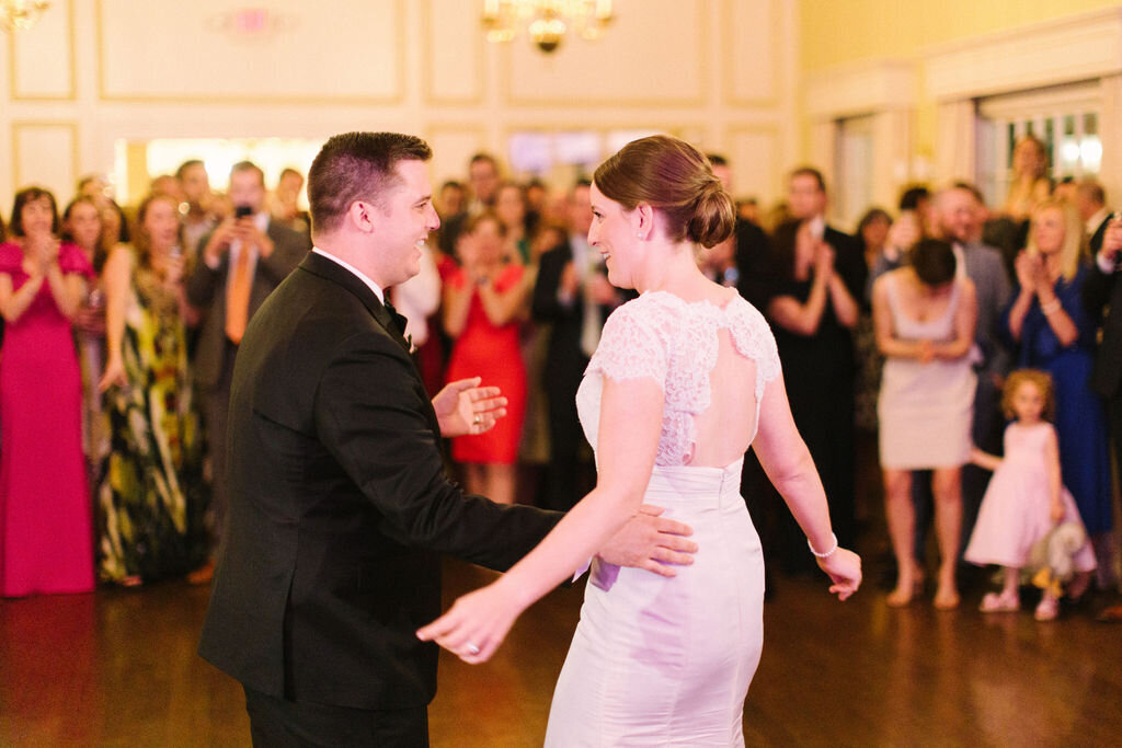 first-dance-westmoreland-country-club