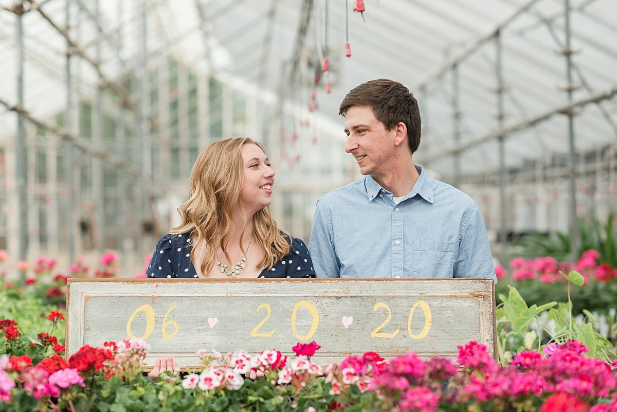 An Edwards Greenhouse and BSU Engagement Session-6
