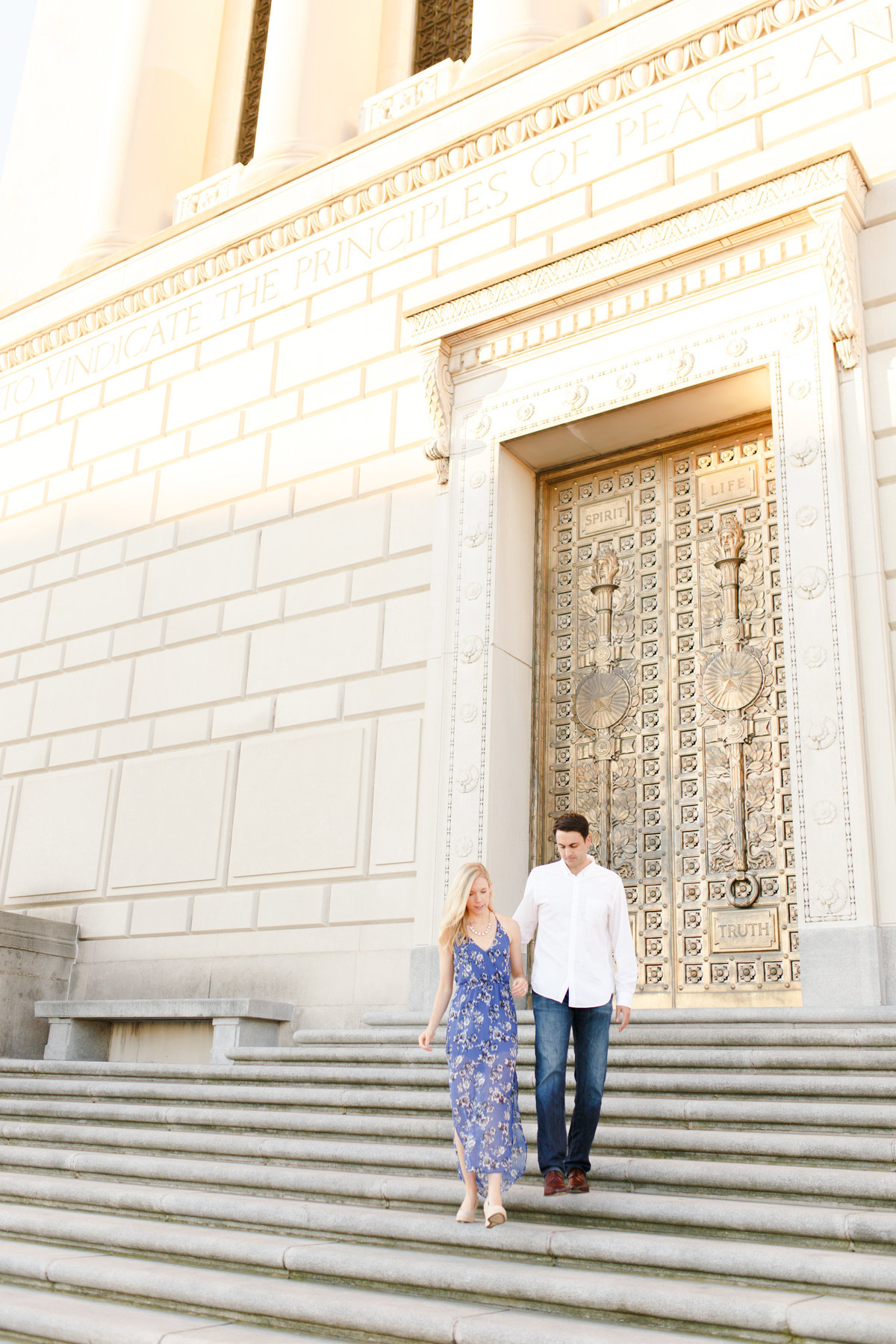 Indianapolis War Memorial Downtown Engagement Session Sunrise Sami Renee Photography-21