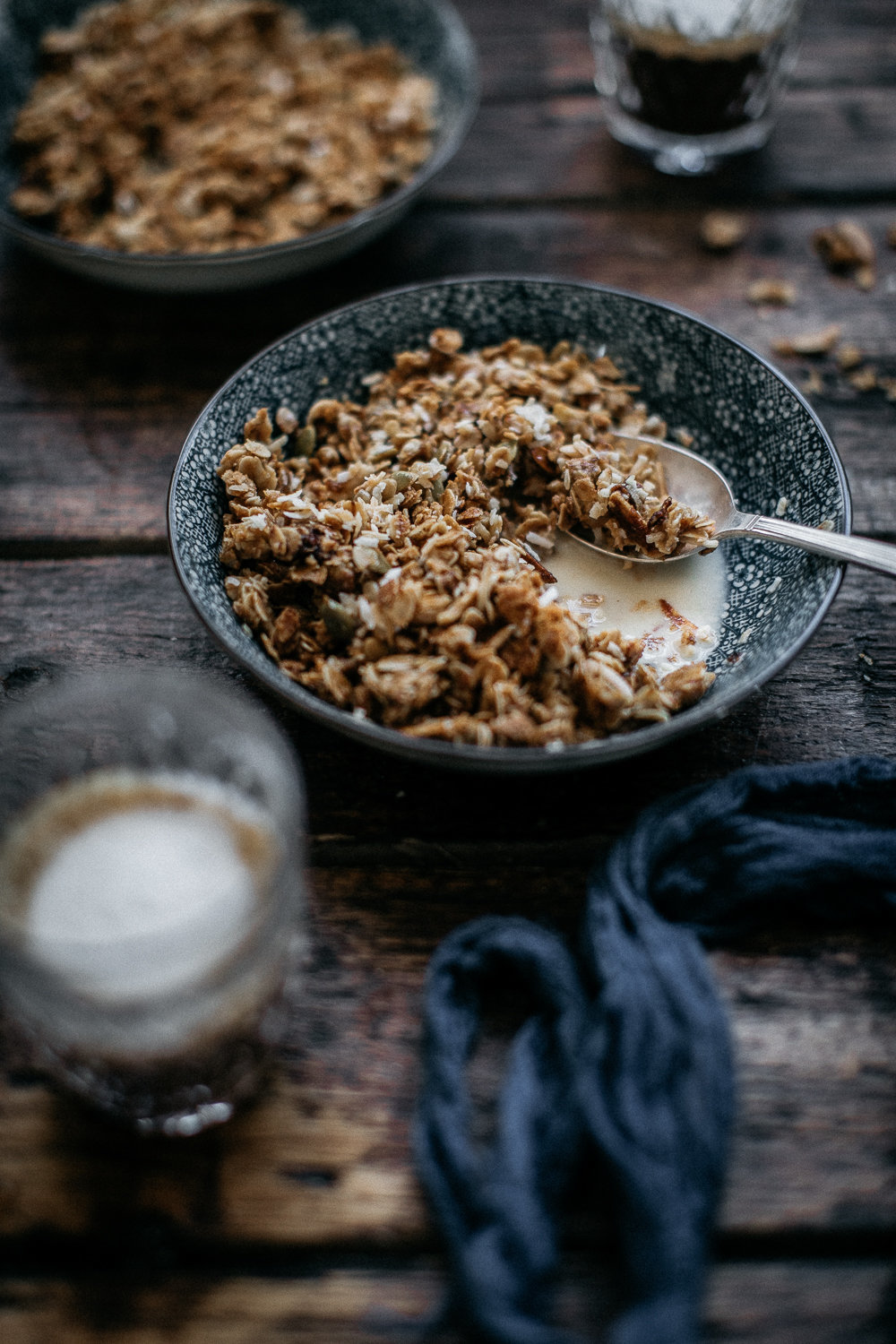Honey Almond Granola - Anisa Sabet - The Macadames - Food Travel Lifestyle Photographer-186