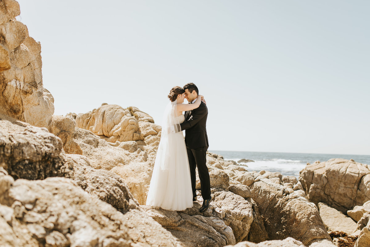 Professional destination wedding photographers based out of Monterey, CA.