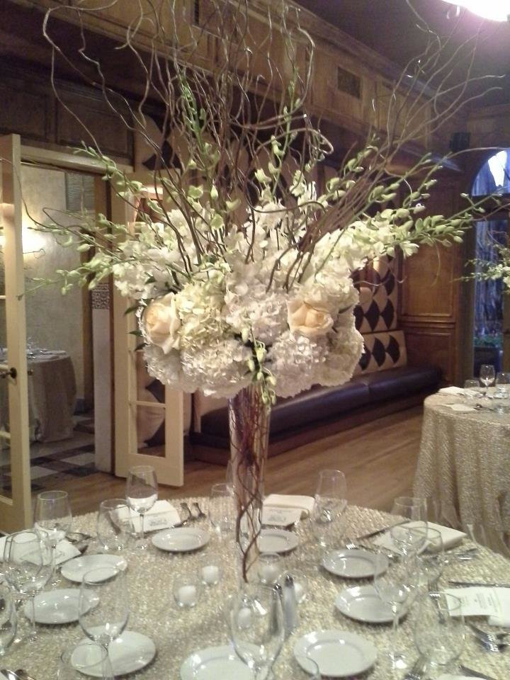 White hydrangeas at the Addison
