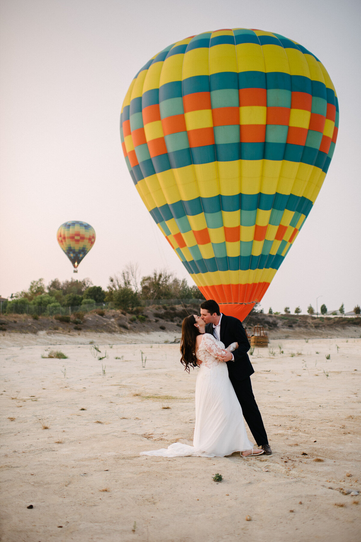 Hot Air Balloon Elopement Marie Monforte Photography-200