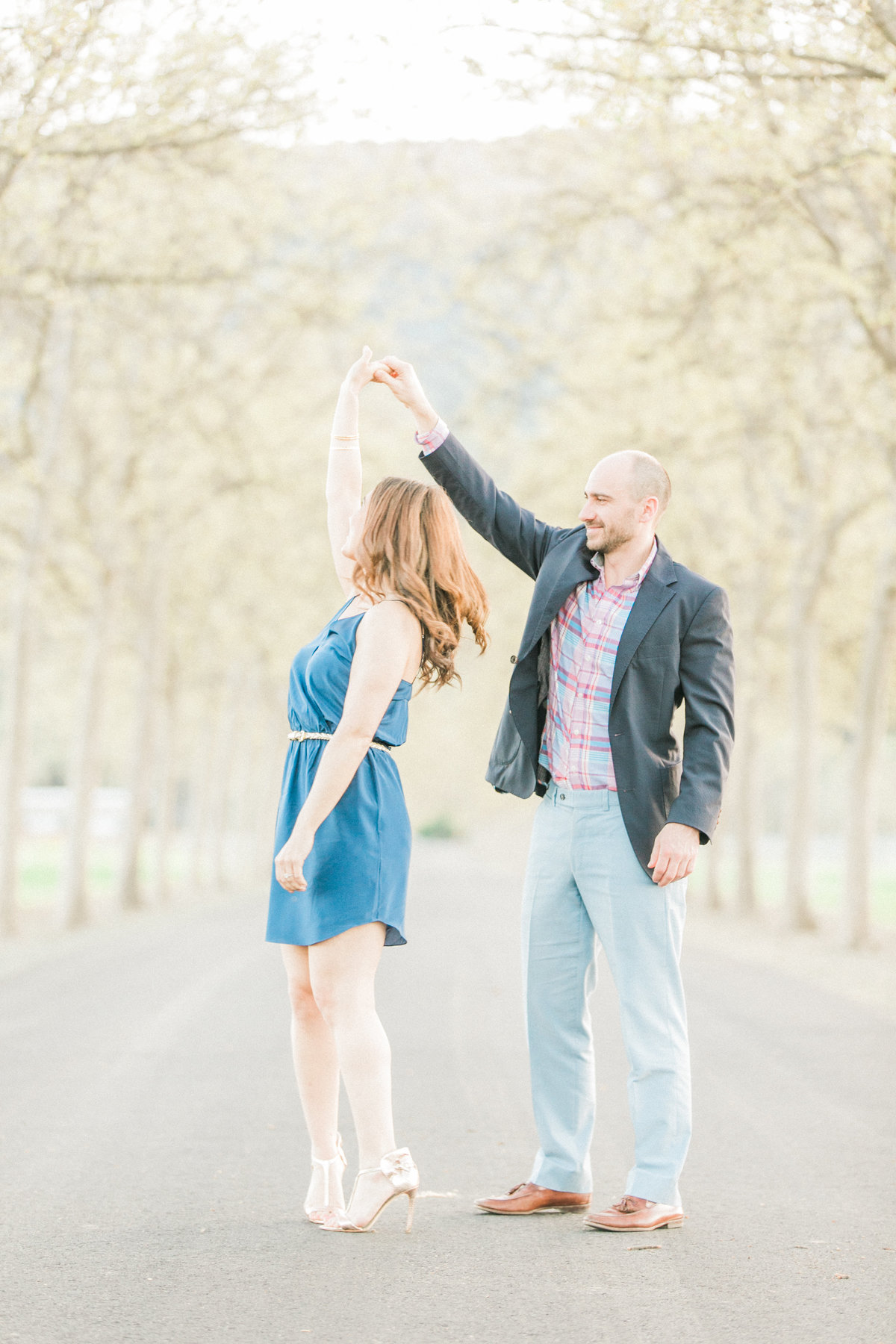 Rutherford Engagement Session Napa Valley