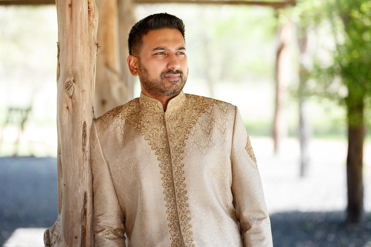 Indian wedding photographer groom alone traditional 10601 B Derecho Drive, Austin, TX 78737