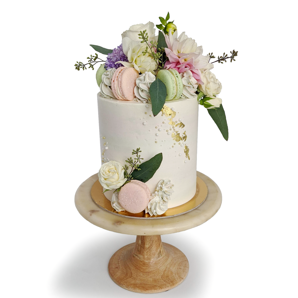 Whippt Kitchen - Floral Macaron Cake garden Party 2