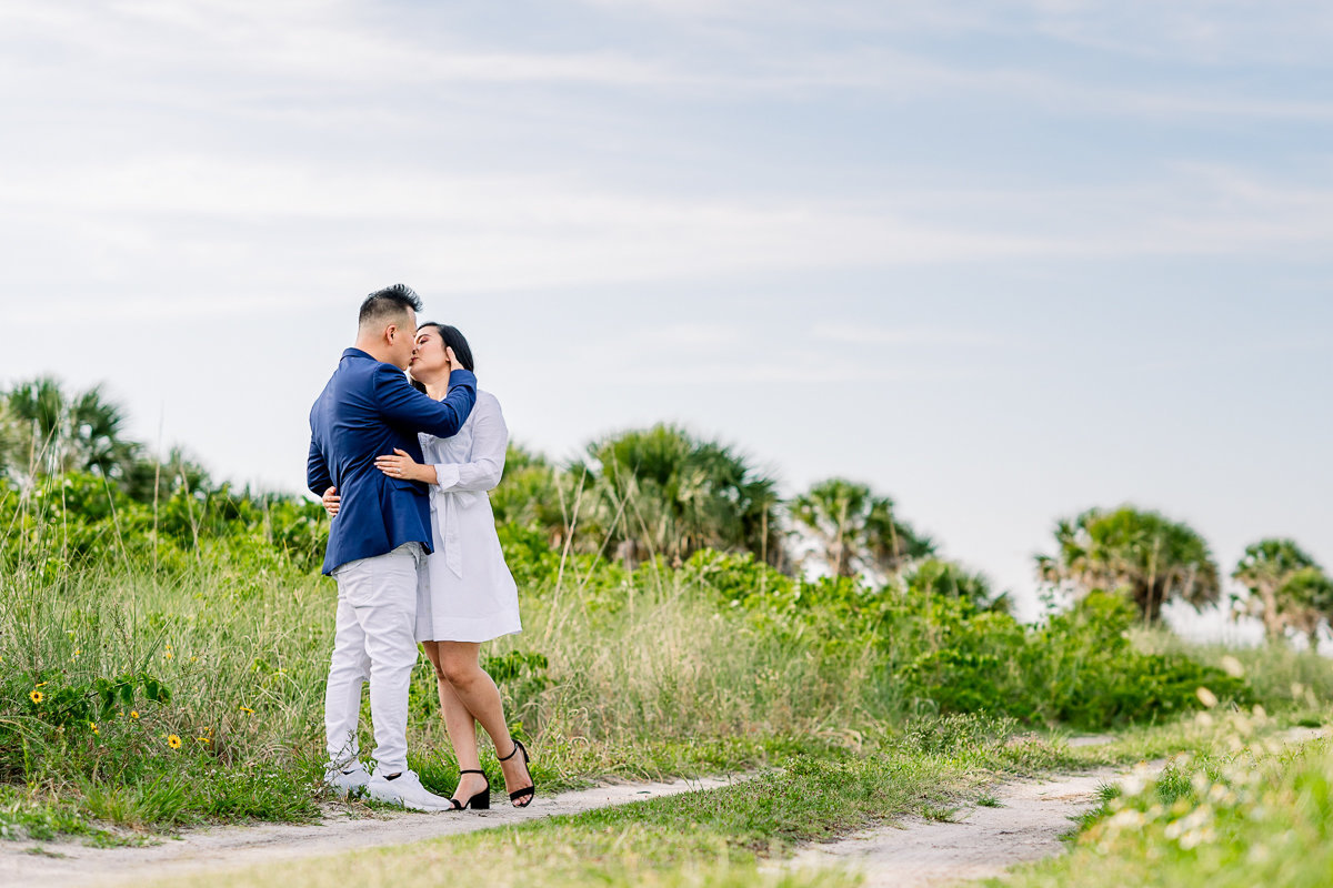 St. Pete Wedding Photographer | St. Pete Engagement | Beach Engagement Session-9
