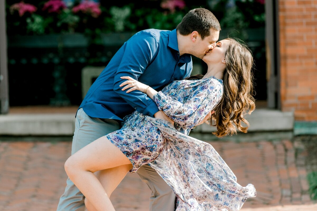 Biltmore Estate Engagement Session 11
