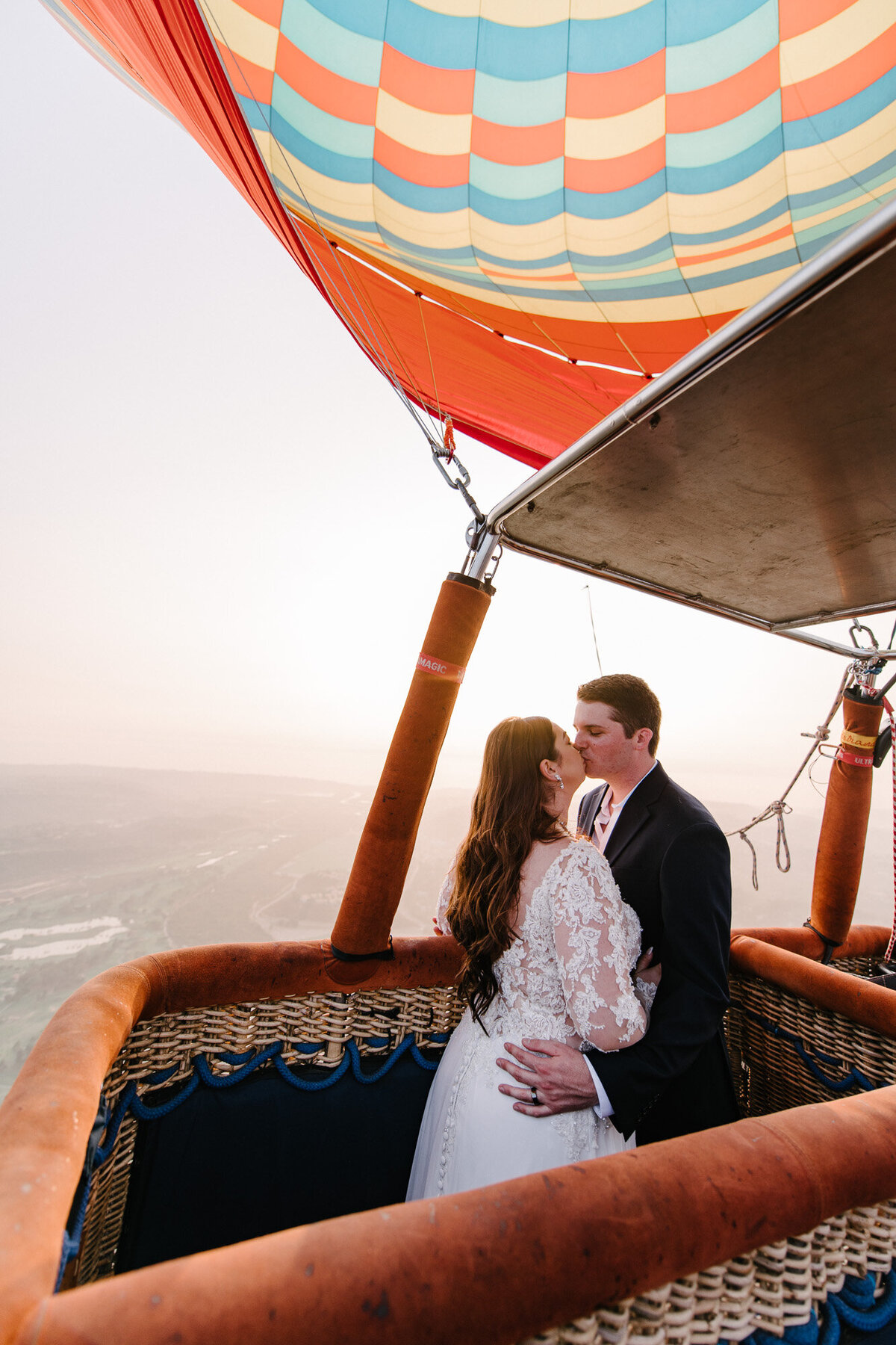 Hot Air Balloon Elopement Marie Monforte Photography-176