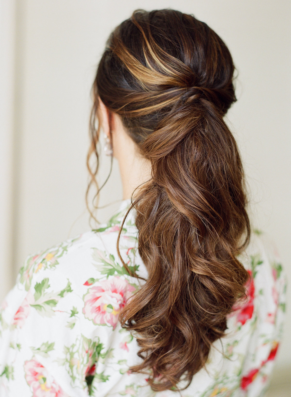 Bridal Ponytail Atlanta Wedding