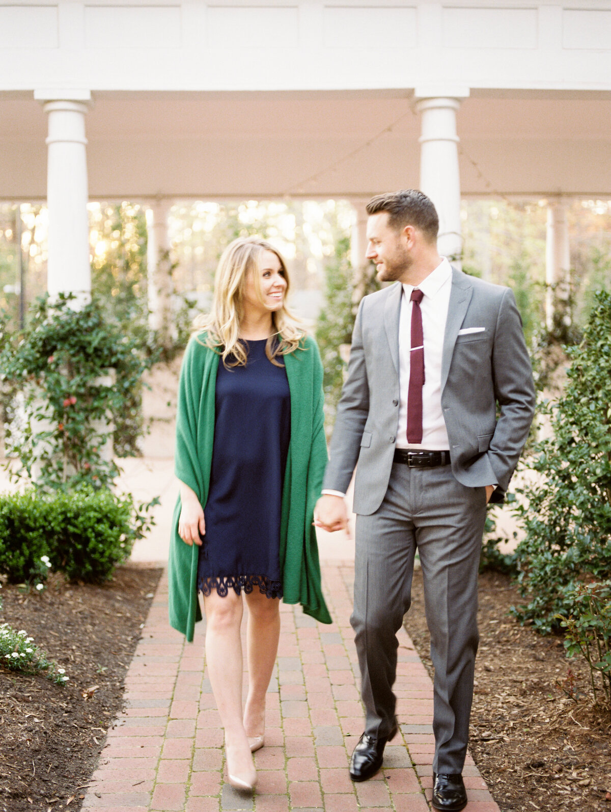 Engagement Photography at Mims House in Holly Springs, NC 19
